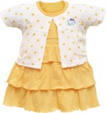 Orange and Orchid Baby Girl's Midi/Knee ...