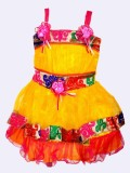 Glam Quotient Baby Girl's Midi/Knee Leng...