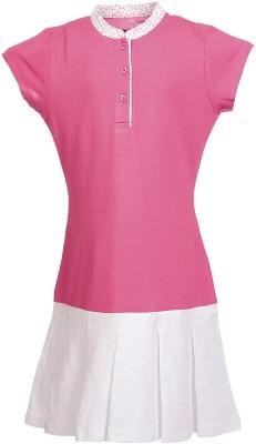 POSH KIDS Low Drop Waist Dress For Girls