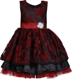 She Designs Midi/Knee Length Party(Black, Sleeveless)