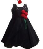 MVD Fashion Girl's Midi/Knee Length Part...