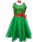 MVD Fashion Girl's Party (Green, Sleevel...