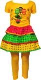Pari & Prince Girl's Midi/Knee Length Ca...