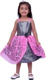 Kilkari Girl's Midi/Knee Length Party (P...