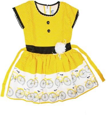 KT A- Line Dress For Girls