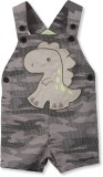 Beebay Dungaree For Boys Casual Printed ...