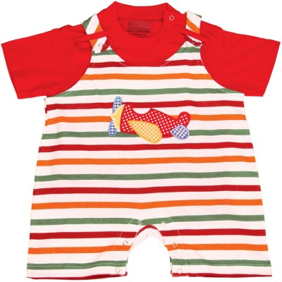 Mee Mee Dungaree For Baby Boys & Baby Girls(Green)