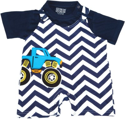 Mee Mee Dungaree For Baby Boys & Baby Girls(Dark Blue)