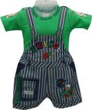 Baloons Dungaree For Baby Boys & Baby Gi...