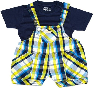 Mee Mee Dungaree For Baby Boys(Yellow)