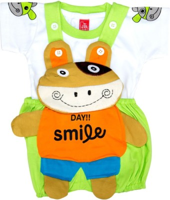 Mee Mee Dungaree For Baby Boys(Green)