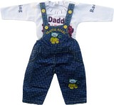 Icable Dungaree For Boys Casual Applique...
