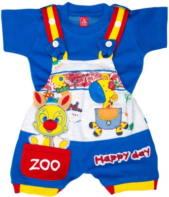 Mee Mee Dungaree For Baby Boys(Dark Blue)