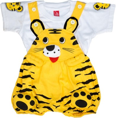 Mee Mee Dungaree For Baby Boys(Gold)