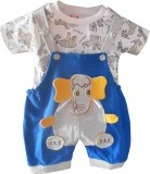 NammaBaby Dungaree For Boys Animal Print...