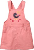 Beebay Dungaree For Girls Applique Cotto...