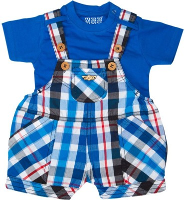 Mee Mee Dungaree For Baby Boys(Blue)