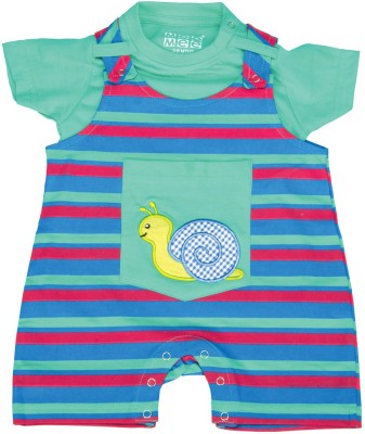 Mee Mee Dungaree For Baby Boys & Baby Girls(Blue)