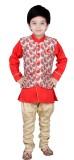 Arshia Fashions Boys Kurta, Waistcoat an...