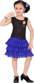 Aarika Girls Top and Skirt Set(Pink Pack of 1)