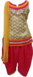 Pogo Girls Kurti, Patiala and Dupatta Se...