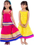 Magnus Girls Top and Skirt Set (Multicol...