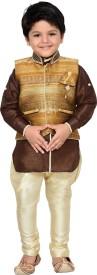 AJ Dezines Boys Shirt, Waistcoat and Pant Set