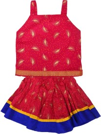 Crux & Hunter Girls Top and Skirt Set(Multicolor Pack of 5)