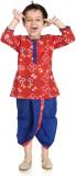 Little Pocket Store Boys Dhoti & Kurta S...