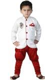 FTC Bazar Boys Kurta and Pyjama Set (Whi...