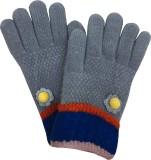 Gayatri Creations Kids Glove (Grey)