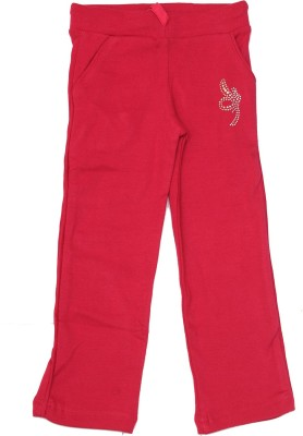 Babeezworld Jegging For Girls(Red, Pack of 1)