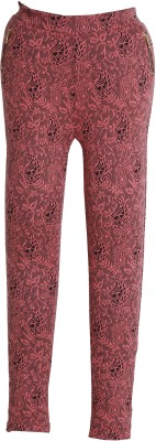 Bottoms More Jegging For Girls(Pink, Pack of 1)