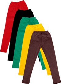 IndiStar Legging For Girls(Multicolor Pack of 5)