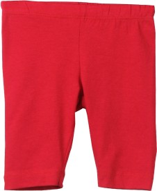 Beebay Legging For Girls(Red Pack of 1)