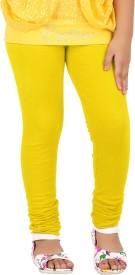 Goodtry Legging For Girls(Yellow Pack of 1)