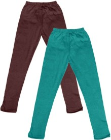 IndiStar Legging For Girls(Multicolor Pack of 2)