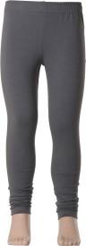 Estyle Legging For Girls(Grey Pack of 1)
