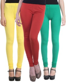 Vimal Legging For Girls(Multicolor Pack of 3)