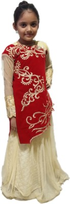 sonu creation Girls Lehenga Choli(Pack of 1)