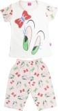 Myfaa Kids Nightwear Girls Printed Hosie...