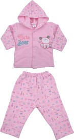 Myfaa Boys & Girls Casual Pyjama Sweatshirt(Multicolor)
