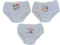 Aakarshan Panty For Girls(White, Pack of 3)