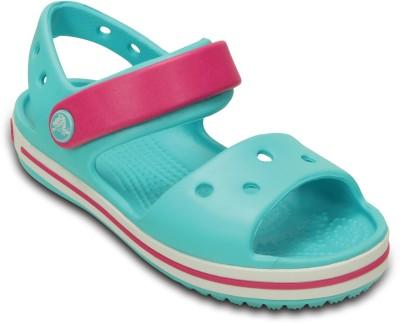 Crocs Boys & Girls Sling Back Clogs(Blue)