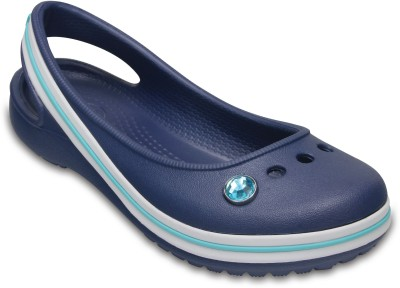 Crocs Girls Slip-on Flats(Blue)