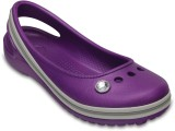 Crocs Girls Slip-on Flats (Purple)