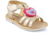 Kittens Girls Slip-on Flats (Gold)