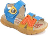 N Five Boys & Girls Buckle Flats (Blue)