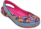 Crocs Girls Slip-on Flats (Multicolor)