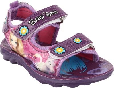 Windy Girls Velcro Flats(Purple)